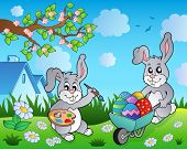 pic of tame  - Easter bunny topic image 2  - JPG