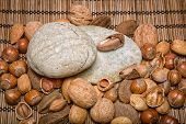pic of brazil nut  - Mixed nuts  - JPG