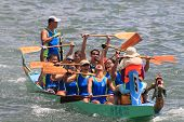 dragon boat race winning team
