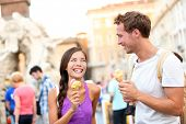 stock photo of piazza  - Ice cream  - JPG
