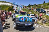 Cftc Car In Pyrenees Mountains
