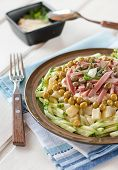 Polish Salad With Vegetables And Capers