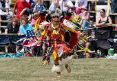 Young Powwow Traditional Dancer