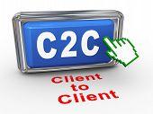 3D Hand Cursor - C2C Button