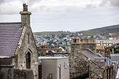 Old And New Lerwick, Shetland,scotland