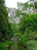 Turda Keys Mountains And The River
