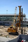 picture of chopin  - Terminal 2 construction at Warsaw - JPG