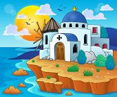 Greek theme image 6 - eps10 vector illustration.