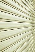stock photo of roller shutter door  - Perspective of rolling door or shutter door pattern - JPG