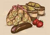 Sweet Dessert Illustration