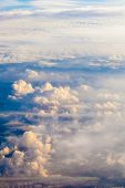 foto of float-plane  - Sky and clouds - JPG