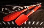 Red Kitchen Utensils