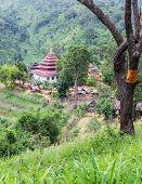 Shan Temple, Wat Fah Wiang In Wianghaeng Chiangmai Thailand