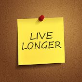 Live Longer Words On note