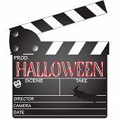 Halloween Clapper Board