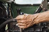 Hand Of Operator