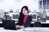 Marketing Staff Working In Office