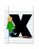 Alphabet Start Of School Two X