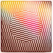 Optical Illusion and color flare - With Instagram effect
