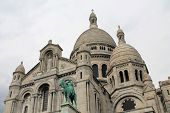 Domes Of Sacre Coeur Cathedral, Paris, France