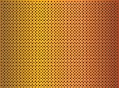 High resolution concept conceptual orange metal stainless steel aluminum perforated pattern texture mesh background