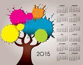 A 2015 Tree Calendar