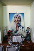 KOLKATA, INDIA - FEBRUARY 11: Shishu Bhavan, one of the houses established by Mother Teresa and run by the Missionaries of Charity in Kolkata, India on February 11, 2014.
