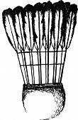 shuttlecocks badminton