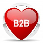 b2b valentine icon
