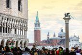 View Of San Giorgio Maggiore From San Marco Square