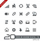 Web & Mobile Icons - 6 // Basics