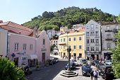 Square With The Pillory In Sintra