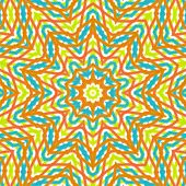 Decorative Seamless Pattern In Ethnic Style
