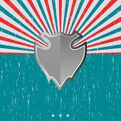 vintage theme shield