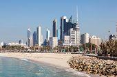 picture of kuwait  - Skyline of Kuwait City from Shuwaikh beach - JPG