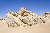Bolivia, Antiplano, Los Lipez - desert and rock formations near Arbol de Piedra
