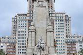 Spain Square In The Spanish Capital.