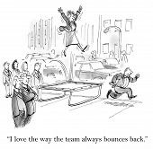Team Bounces Back