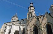 Basilica Saint Seurin At Bordeaux, France