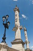 Columns Of Rostrales At Bordeaux, France