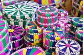 Unique Vibrant Handwoven Traditional Bajau Gift Box