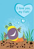 I love you, my fish