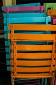Colorful Patio Chairs Vertical