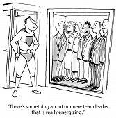 New Team Leader