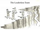 image of leader  - Team members without a leader - JPG