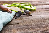image of suntanning  - Beach accessories - JPG