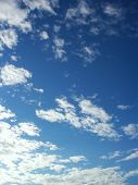 Beautiful Summer Clouds 4 poster