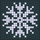Постер, плакат: Snowflake Game Design