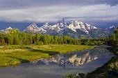Grand Teton National Park At Schwabacher Landing