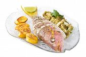 Roasted Yellow Tail Snapper